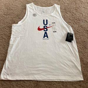 Nike USA Dri-Fit Cotton Tank Top!